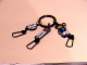 Gear No: ickc05  Name: Imagination Center Key Chain Female player with Baseball