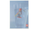 Gear No: lap00-006  Name: Postcard - Lego Art Project 2000 - 006 - Diver Minifigure in Glass of Water