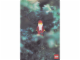 Gear No: lap00-010  Name: Postcard - Lego Art Project 2000 - 010 - Santa Minifigure in Tree