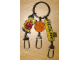 Gear No: lckc01  Name: Legoland California Key Chain Male Basketball Player with Basketball