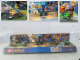 Gear No: locAM02  Name: Display Assembled Set, Legends of Chima Sets 70108, 70109, 70114, 70111 and 70112 in Plastic Case with mounts