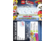 Gear No: loyc14mf01  Name: Minifigures Loyalty Card 2014 The LEGO Movie