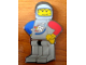Gear No: mag006  Name: Magnet Flat, Minifigure Rocket Racer