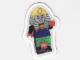 Gear No: mag010  Name: Magnet Flat, Minifig Pharaoh Hotep