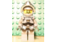 Gear No: magcasfantasy02  Name: Magnet, Minifig Castle Fantasy Era Crown Knight with Breastplate, Helmet with Visor, Curly Eyebrows and Goatee, Black Hips, Light Bluish Gray Legs