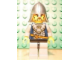 Gear No: magcasfantasy04  Name: Magnet, Minifigure Castle Fantasy Era Crown Knight Scale Mail with Crown, Helmet with Neck Protector, Brown Beard and Sideburns