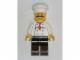 Gear No: magchef  Name: Magnet, Minifigure Chef - Curly Moustache, Black Legs
