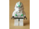 Gear No: magsw129  Name: Magnet, Minifigure SW Clone Trooper Ep. 3, Green Markings