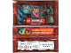 Gear No: njo2depack  Name: Ninjago Trading Card Game (German) Series 2 Card Pack