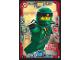 Gear No: njo3de004  Name: Ninjago Trading Card Game (German) Series 3 - #4 Stunt Lloyd Card