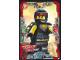 Gear No: njo3de022  Name: Ninjago Trading Card Game (German) Series 3 - #22 Wachsamer Cole Card
