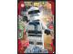 Gear No: njo3de027  Name: Ninjago Trading Card Game (German) Series 3 - #27 Kluger Zane Card