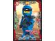Gear No: njo3de034  Name: Ninjago Trading Card Game (German) Series 3 - #34 Entschlossener Jay Card