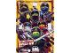 Gear No: njo3de038xxl  Name: Ninjago Trading Card Game (German) Series 3 - # 38 Ultra Power Ninja Go! Card (Oversize XXL Card)