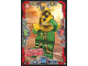Gear No: njo3de051  Name: Ninjago Trading Card Game (German) Series 3 - #51 Versteckspiel Hutchins Card