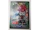 Gear No: njo3de099  Name: Ninjago Trading Card Game (German) Series 3 - #99 Zeitklingen Machia Card