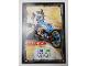 Gear No: njo3de165  Name: Ninjago Trading Card Game (German) Series 3 - #165 Zanes Bike Card