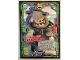 Gear No: njo3de195  Name: Ninjago Trading Card Game (German) Series 3 - #195 Mega Duell Hammerhai Card