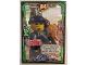 Gear No: njo3de197  Name: Ninjago Trading Card Game (German) Series 3 - #197 Mega Duell Charlie Card