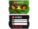 Gear No: njocard  Name: ID Card, Green Ninjago Head