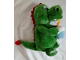 Gear No: ollie03  Name: Dragon Plush Ollie - Holding Cake with Candle