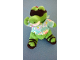 Gear No: olliemini04  Name: Dragon Plush Ollie Mini in Sunglasses and Shirt (Legoland Windsor Meal Toy)