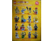 Gear No: p10col01  Name: Minifigure Collection Vol. 1 Poster (Double-Sided)