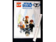 Gear No: p10swcw1  Name: Star Wars Clone Wars Poster, 4 Minifigures