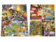 Gear No: p16nex02  Name: Nexo Knights Poster, Double-Sided showing Kingdom Map