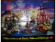 Gear No: p91pirate  Name: Pirates Poster Large 1991 (Discovery at Rock Island Refuge - Exclusive for Lego Builders Club)