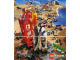 Gear No: p95est  Name: Town Poster 1995 Spanish with Board Game on Reverse (924.017-E)