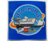 Gear No: pa9  Name: Patch, Iron-On Lego Shuttle