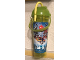 Gear No: parkbottle7  Name: Food - Drink Bottle Plastic, Legoland California Pirate Reef Pattern