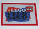 Gear No: patch16  Name: Patch, Sew-On Cloth Rectangle, The Lego Club