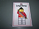 Gear No: patch22  Name: Patch, Sew-On Cloth Rectangle, Legoland Ambassador