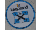 Gear No: patch25  Name: Patch, Sew-On Cloth Round, LEGOLAND Pirates Imperial Flag