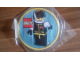 Gear No: patch26  Name: Patch, Sew-On Cloth Round, Minifig Extreme Team Racer