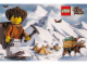 Gear No: pc03adv01  Name: Postcard - Adventurers Orient Expedition 01 - Mountain Camp