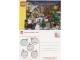 Gear No: pc09xmas  Name: Postcard - Christmas Scene with 2009 Sets