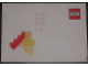 Gear No: pc10look1  Name: Postcard - Launch of our new corporate look - Minifigure with Bricki