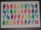 Gear No: pc10look4  Name: Postcard - Launch of Our New Corporate Look - Minifigures