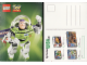 Gear No: pc10mcwl05  Name: Postcard - World Club My Christmas Wish List - Toy Story