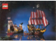 Gear No: pc89bc3  Name: Postcard - Pirate Eldorado Fortress & Black Seas Barracuda (Exclusive for Lego Builders Club)
