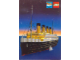 Gear No: pc89lws1  Name: Postcard - Lego World Show, Ships and the Sea - The Titanic