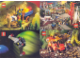 Gear No: pc90bc  Name: Postcard - Various Theme Postcards, Sheet of 4 (Exclusive for Lego Builders Club)