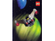 Gear No: pc90bc1  Name: Postcard - Space, Blacktron I Set 1875 (Exclusive for Lego Builders Club)