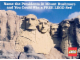 Gear No: pc91bcc1  Name: Postcard - Guessing Competition - Mount Rushmore (exclusive for Lego Builders Club)
