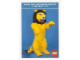 Gear No: pc92bcc2  Name: Postcard - Guessing Competition - Lion Model (exclusive for Lego Builders Club)