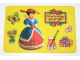 Gear No: pcA3  Name: Postcard - Birthday Party Invitation with Stickers - A-3 (Dutch)