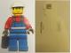Gear No: pcLB217  Name: Postcard - Legoland Parks, Legoland Billund - Worker with Suitcase (DK041)
